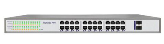 24 Port POE Switch IEEE 802.3af IEEE 802.3at
