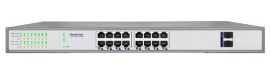 16 Port POE Switch IEEE 802.3af IEEE 802.3at