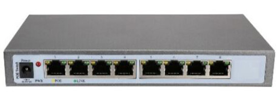 8 Port POE Switch IEEE 802.3af