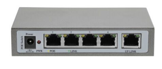 5 Port POE Switch IEEE 802.3af