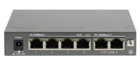 6 Port POE Switch IEEE 802.3af IEEE 802.3at