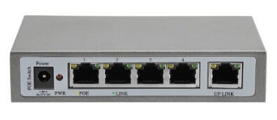 5 Port POE Switch IEEE 802.3af IEEE 802.3at