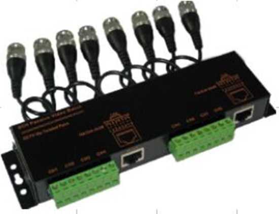 8CH Passive Video Balun with BCN cabel