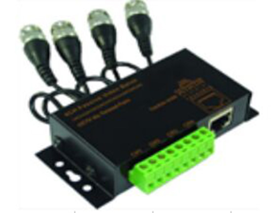 4CH Passive Video Balun with BNC Cable