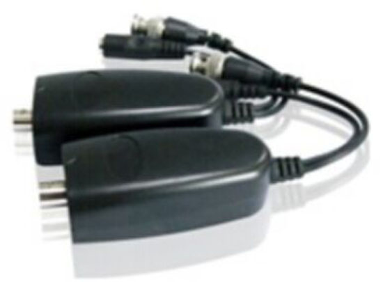 1 Cable for Coaxial power and video transmission