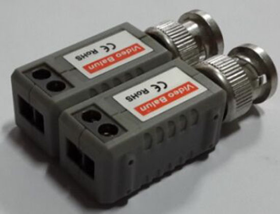 Combinable video balun 4CH 8CH 16CH as you need