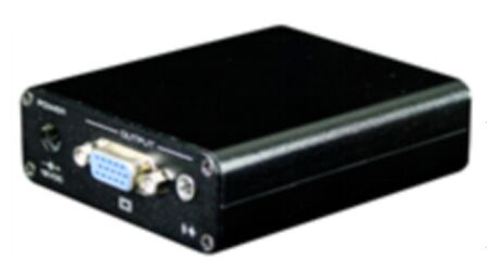 1CH VGA Video and Audio UTP Receiver